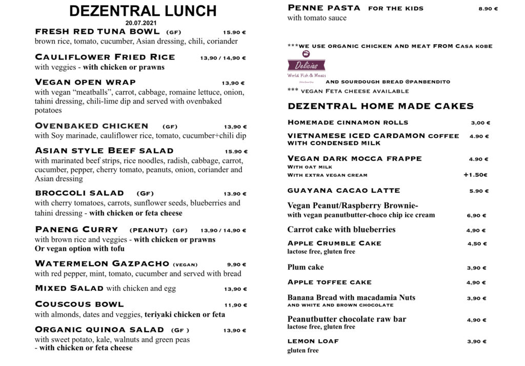 Tuesday lunch!, Dezentral Marbella