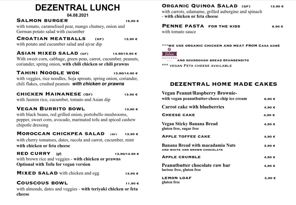 Lunchtime :), Dezentral Marbella