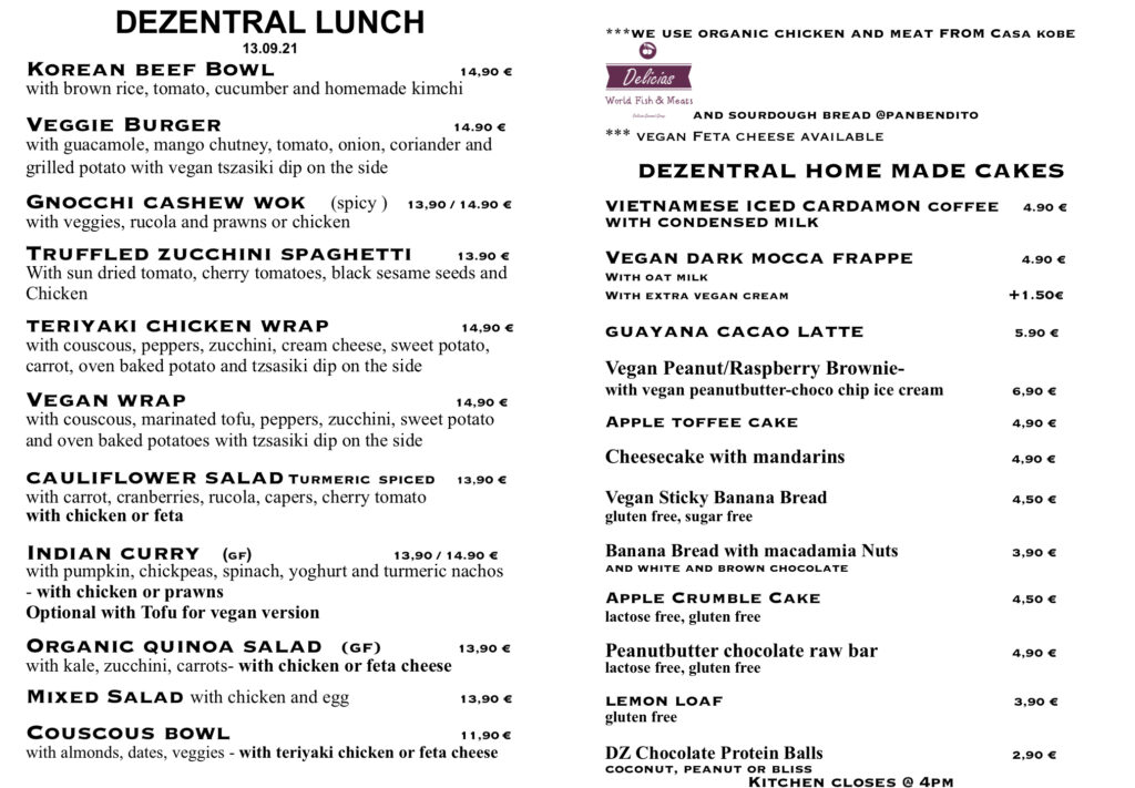 Monday lunch is ready :), Dezentral Marbella