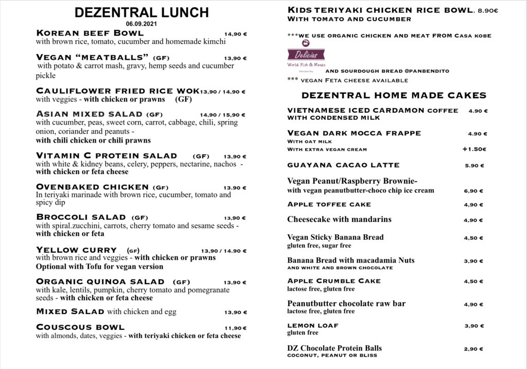 Lunch is ready :), Dezentral Marbella
