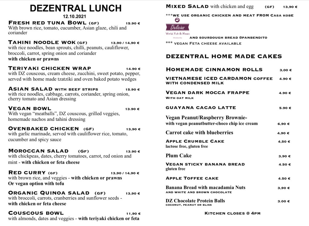 Lunchtime people :), Dezentral Marbella
